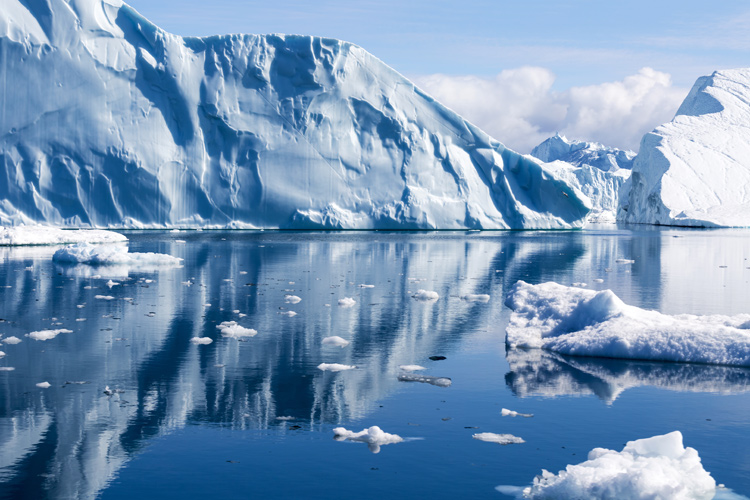 Melting glaciers: a consequence of global warming | Photo: Shutterstock
