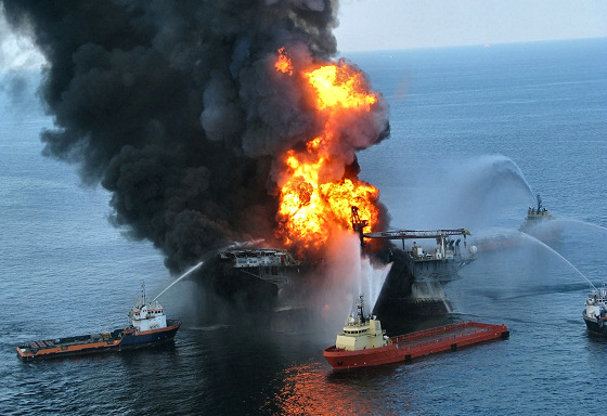 Gulf of Mexico: disaster by BP