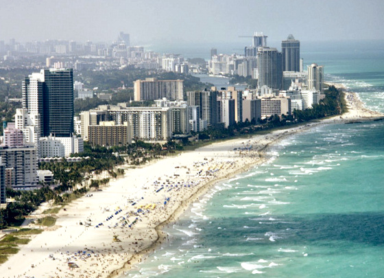 Miami Beach: plenty of surf for everyone
