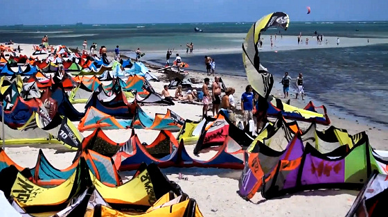 2012 Miami Kite Masters: crowded? where?