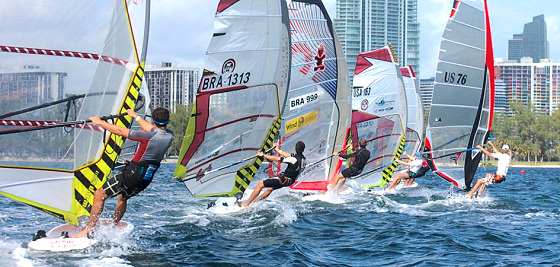 Miami Pro Am 2011: this is tight racing | Photo: WindsurfingTour.com