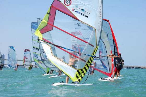 2011 Miami Wind and Surfers Challenge: find the Kona windsurfers | Photo: WindsurfingTour.com