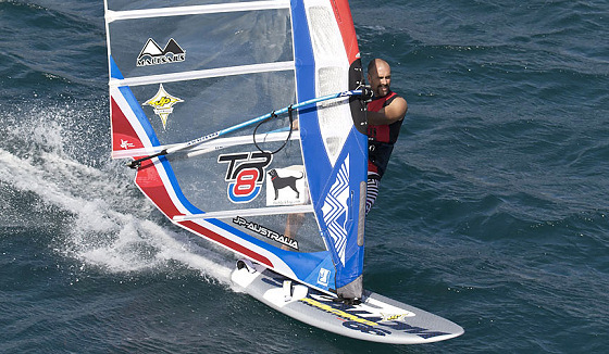 Micah Buzianis: the stylish windsurfer