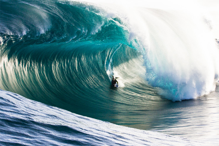 Michael Novy: ready to reconquer his big wave bodyboarding title | Photo: Trent Slatter/Nomad