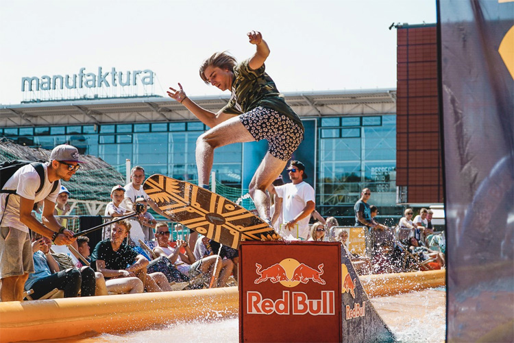 Michal Ambruszkiewicz: the Polish won the Red Bull Skim It for the second time | Photo: Kotlinski