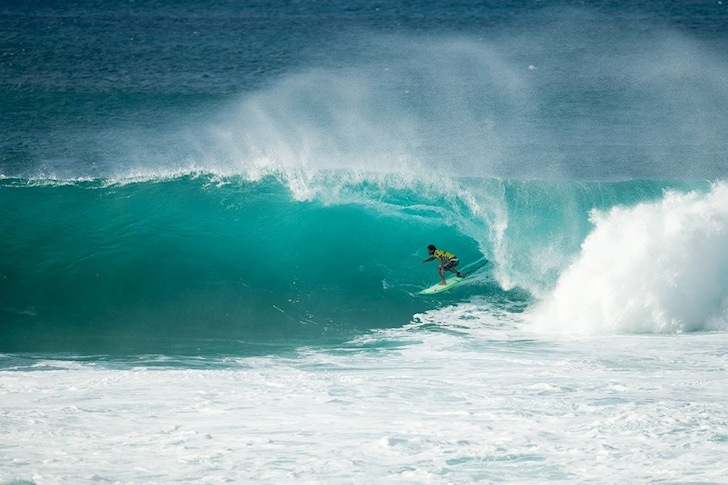 Michel Bourez: a perfect surfing year | Photo: ASP/Cestari