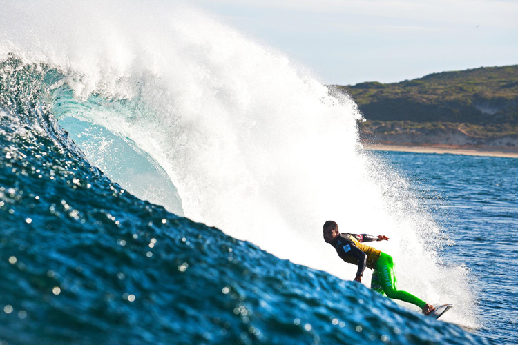 Michel Bourez: ready to fight for his title | Photo: ASP