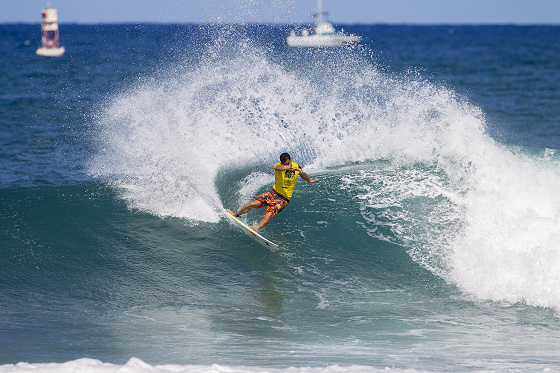 Michel Bourez: historical victory at Haleiwa