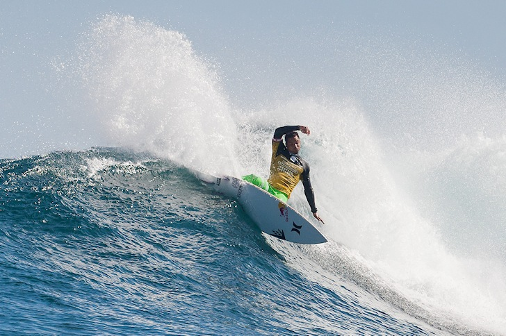 Michel Bourez wins the 2014 Drug Aware Margaret River Pro
