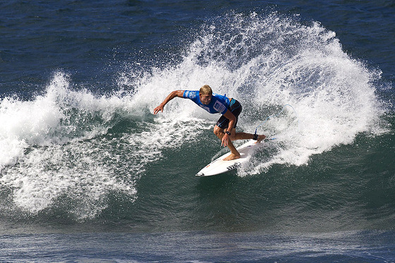 Mick Fanning: sharp and focused