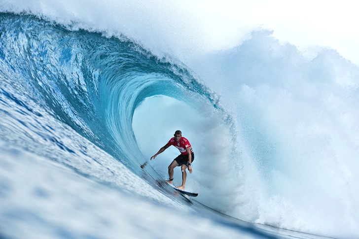 Mick Fanning: chasing glory at Pipeline | Photo: ASP/Cestari