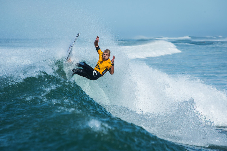 Mick Fanning: fit to hit | Photo: Pullenot/WSL