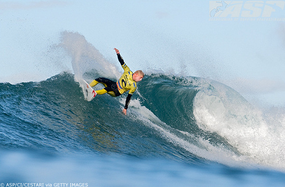 Mick Fanning: the home pressure is on