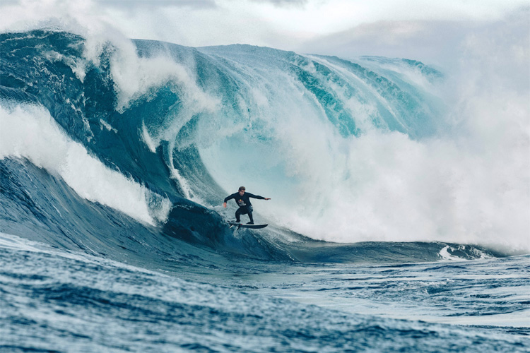 Mick Fanning: he was not able to reach the finals at Shipstern Bluff | Photo: Red Bull