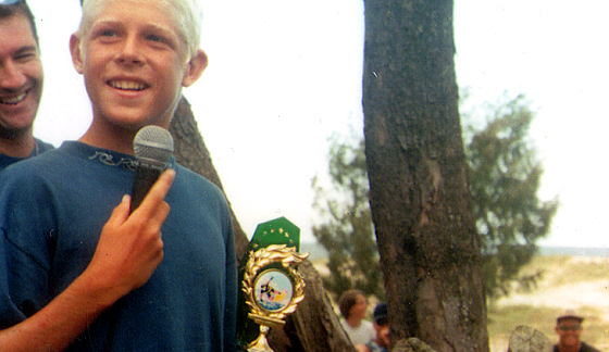 Mick Fanning: the Kirra Surfriders Club days