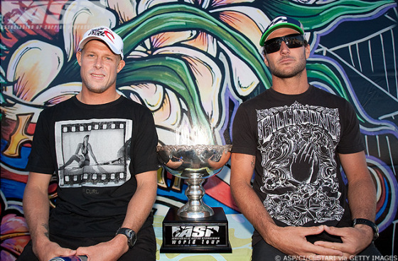 Mick Fanning or Joel Parkinson? Who will win the 2009 ASP World Tour?