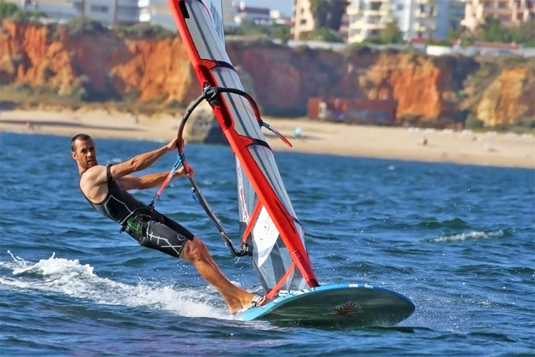 Miguel Martinho: the 2016 Formula Windsurfing European Masters champion | Photo: FW Portugal