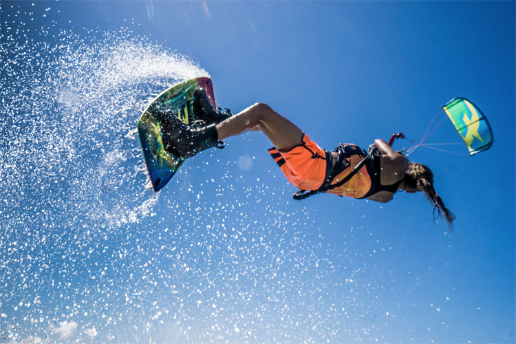 Mikaili Sol: a pro freestyle kiteboarder at only 12