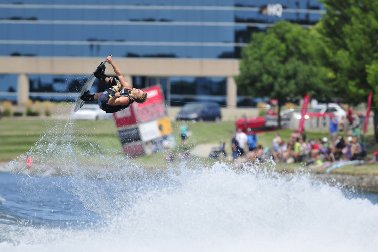 Mike Dowdy: the 2016 Supra Boats Pro Wakeboard Tour champion | Photo: Bill Doster