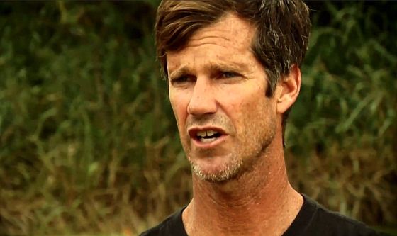Mike Parsons: big wave surfer, big wave sufferer