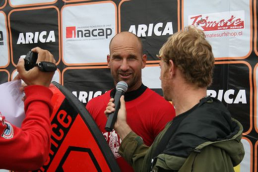 Mike Stewart wins the 2009 Arica Chilean Challenge