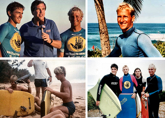 Mike Stewart: with Kelly Slater and many friends