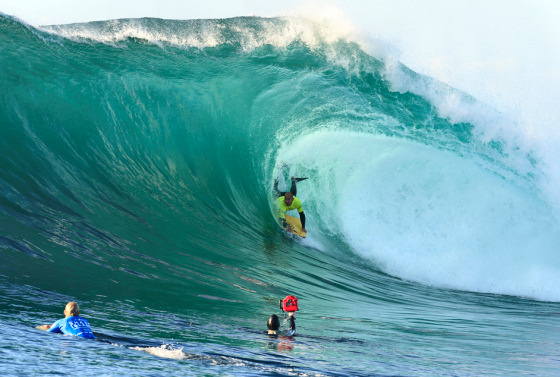 Pro Bodyboarders Return To The Wedge Of Death