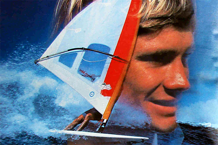 Mike Waltze: the winner of the Maui Windsurfing Grand Prix 1982 | Photo: NeilPryde