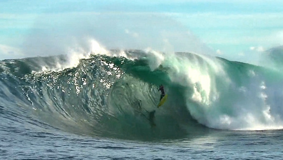 Mikey Brennan: earlier, this drop went better | Video still: Tim Bonython Productions
