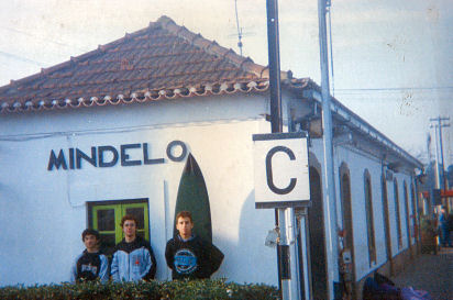 Mindelo, 1990s: the train station that led us to our surfing dreams