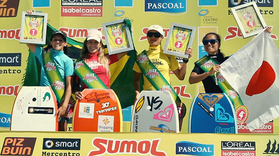 Miss Sumol Cup: Karla surrounded by friends/rivals