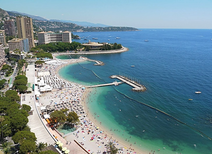 Monaco: you might pay to catch waves, here