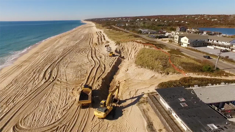 Montauk: sandbag wall are not a solution