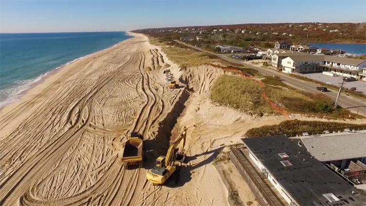 Montauk: sandbag wall are not a solution