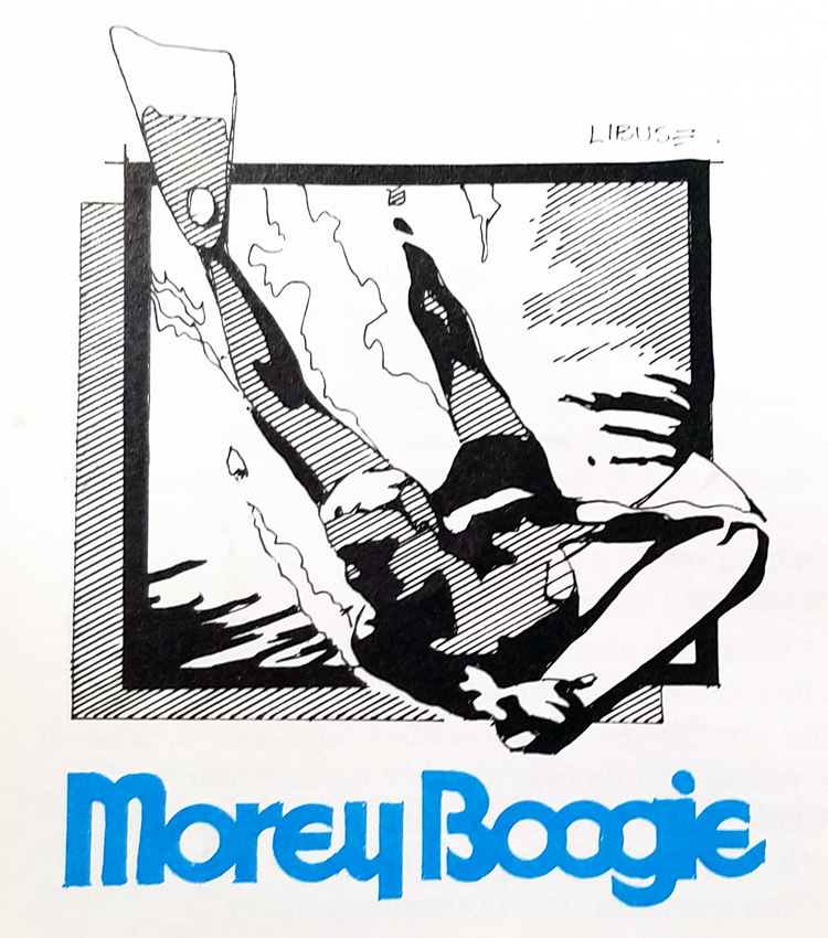 Morey Boogie: the no long hair logo of the Wham-O era | Illustration: Craig Libuse