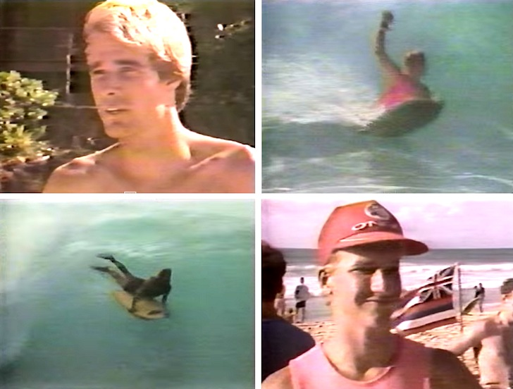 Bodyboarding in 1984: claiming is believing in yourself