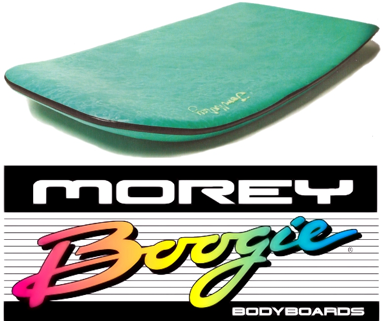 The original Morey Boogie Board: no leash, pure freedom