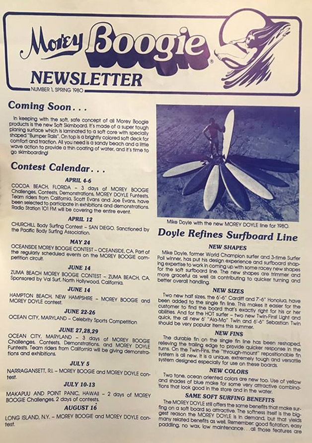 The Morey Boogie Newsletter, Number 1: released Spring 1980)