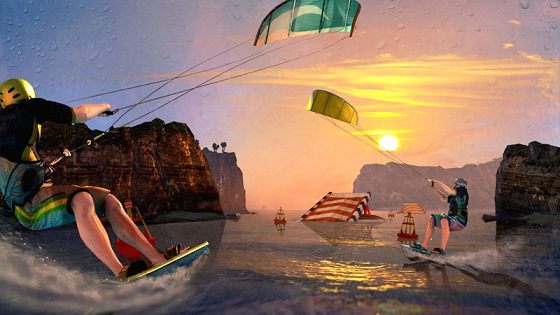Motion Sports Adrenaline: expect real kitesurfing simulation