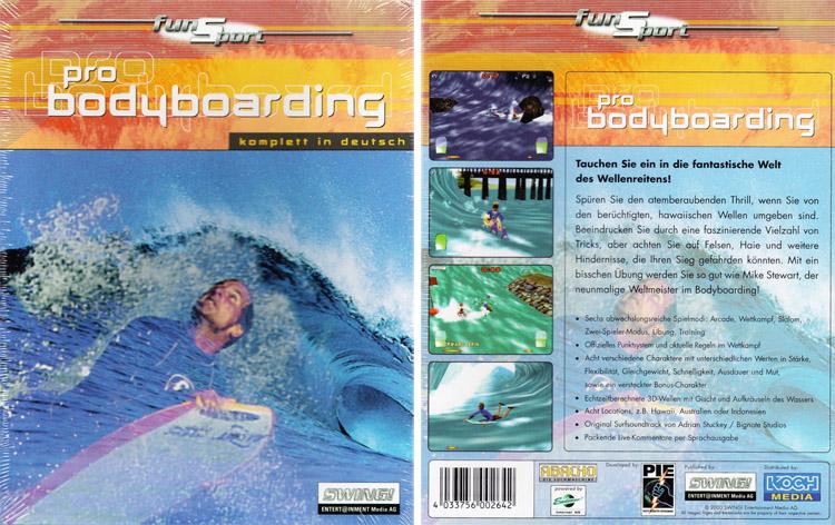 Mike Stewart's Pro Bodyboarding