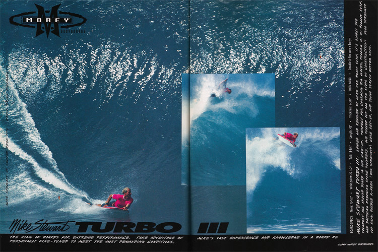 The Mike Stewart Turbo III: the ad from 1994