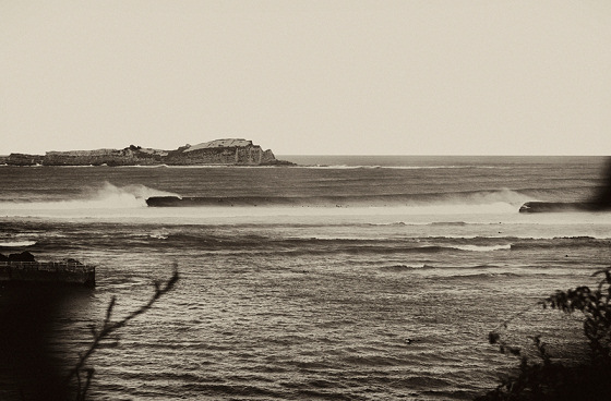 Mundaka: going left, left, left