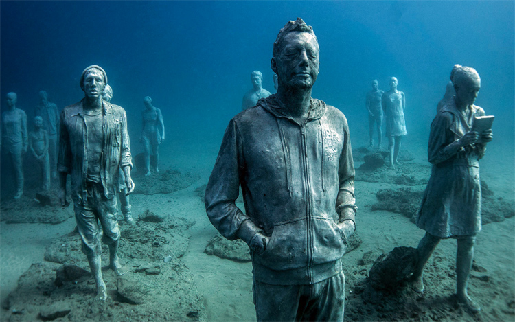 Museo Atlantico: the world's first underwater sculpture museum | Photo: Jason deCaires Taylor