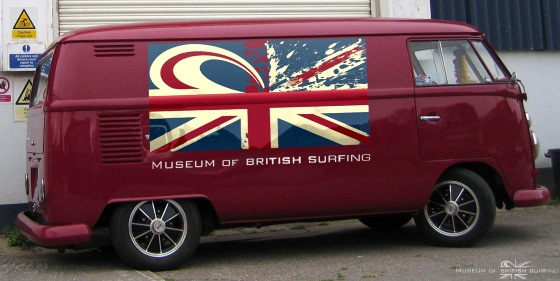 Museum of British Surfing: old classics included