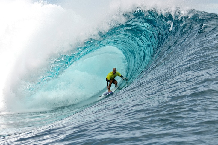 Nathan Hedge: experience pays off at Teahupoo