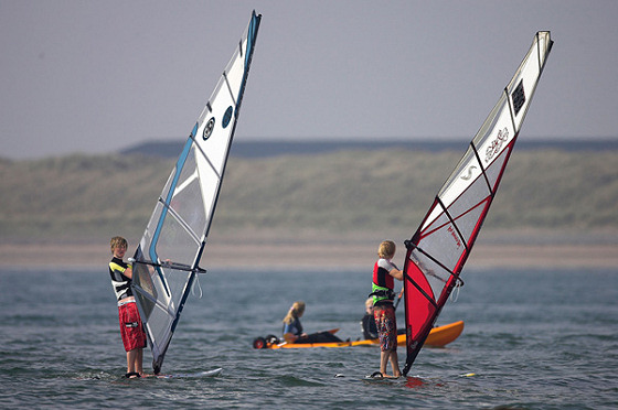 National Windsurfing Week: fun and for all ages and skills