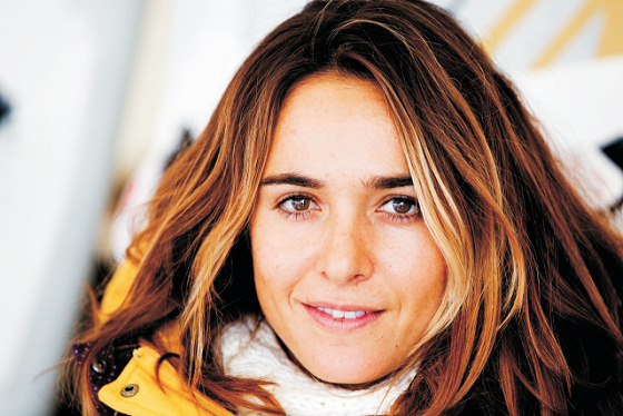 Nayra Alonso: pretty face, top windsurfer