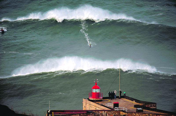 Praia do Norte, Nazaré: getting bigger every year