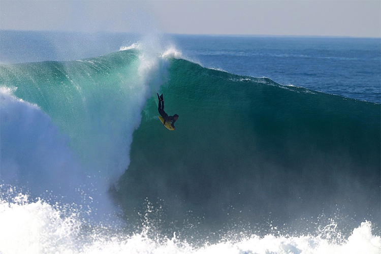 Sumol Nazaré Special Edition: the bodyboarding event runs every year since 2003 at Praia do Norte