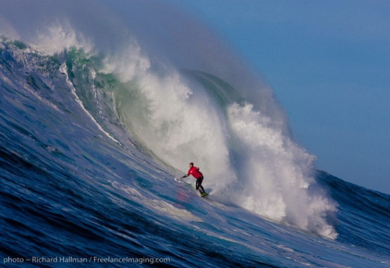 Nelscott Reef Big Wave Classic: not for groms